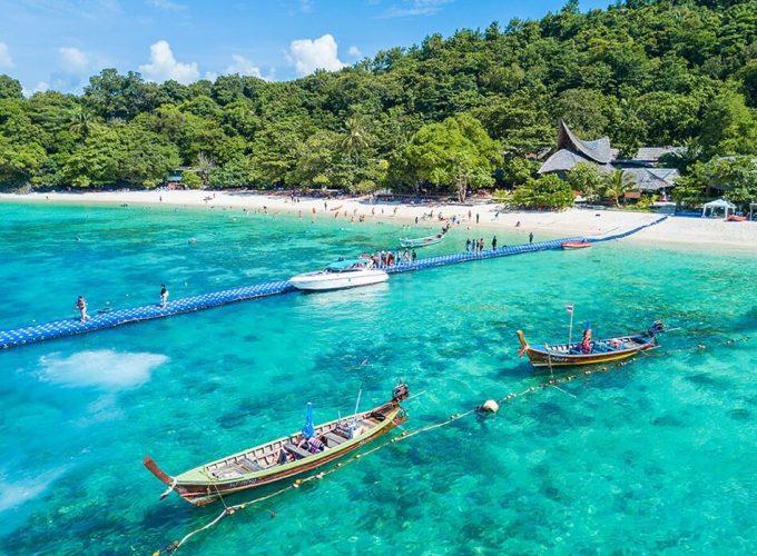 เกาะสวรรค์แห่งเมืองไทย น้ำทะเลใสสีเทอควอยซ์